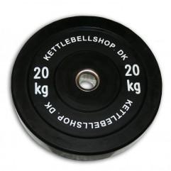 Bumper Plate 20 kg fra KettlebellShop.dk