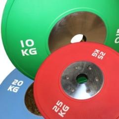 OL Competition Bumper Plate fra KettlebellShop®