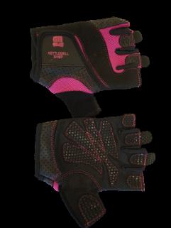 Fitnesshanske svart / rosa