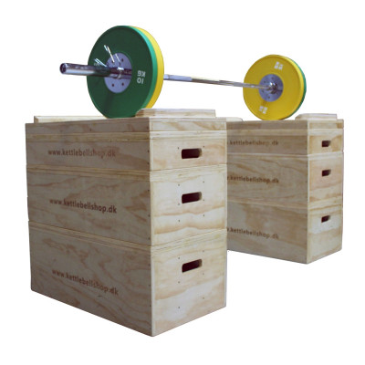 Wood Jerk Block from KettlebellShop®